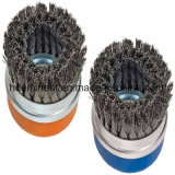 Heavy Duty Twist noeud brosse de la Coupe du fil 65mm M10 x 1,5 mm