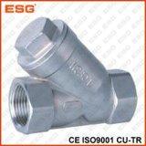 Válvula de verificação do aço inoxidável de 500 séries