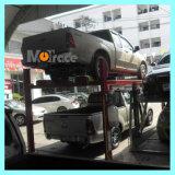 Ручной гараж портативная пишущая машинка подъема автомобиля стоянкы автомобилей автопарка