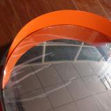 Surface en acier inoxydable haute luminosité de l'ABS miroir convexe économique de la vente de châssis