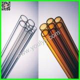 Les tubes de verre longues