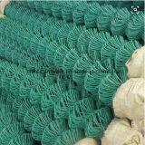 정원에 사용되는 PVC에 의하여 입히는 체인 연결 담 또는 다이아몬드 메시