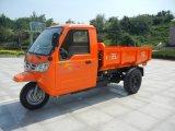 Triciclo 3-Wheel motorizado chinês Diesel da carga com cabine