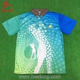 Kundenspezifische Polo-Hemd-Sublimation-Jersey-Sport-Abnützung