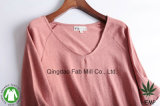 여자의 대마 유기 면 t-셔츠 (WSTV-01/02)
