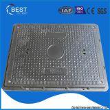 Projeto novo de En124 B125 feito na tampa de câmara de visita retangular do selo da telecomunicação de China