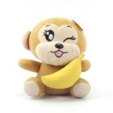 カスタムジャングルの動物の柔らかい卸売のためのおもちゃによって詰められるプラシ天猿