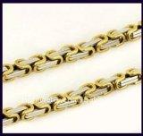 Meilleur Noël en acier inoxydable 316 L 2015 Gold necklace (YC-10005)