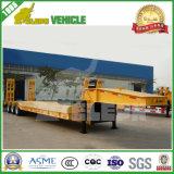 3 Vrachtwagen van de Aanhangwagen van de Aansluting van het Bed van assen 70tons de Lage Semi