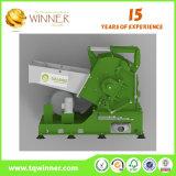 Solo eje trituradora de residuos de papel y metal máquina de reciclaje