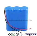 bateria LiFePO4 de 3V 4.5ah 18650 para a lâmpada de tampão dos mineiros do diodo emissor de luz
