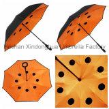 [بورتبل] غنيّ بالألوان طليق يد مستقيمة عكسيّة يعكس مظلة لأنّ سيارة ([سو-0023ي])