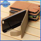 別の色(ANG02)のiPhone5/5c/5sのための革携帯電話カバー