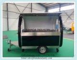 セリウムを使って承認された移動可能なレストランのトラック