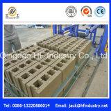 Qt10-15 bloque hueco concreto, ladrillo sólido, pavimentadora que se enclavija que hace la máquina