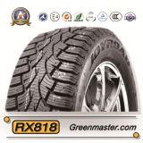 El neumático del invierno del coche \ tachonó los neumáticos de nieve con la escritura de la etiqueta de la UE (185/65R14 195/65R15)
