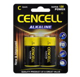 Superleistung-alkalische Batterie C/Lr14