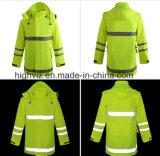 ANSI 기준 (C2441)를 가진 안전 비옷