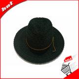 레이스 리본 일요일 모자 파나마 모자 중절모 여자 모자