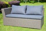 Jeu en osier de meubles de sofa extérieur réglé de rotin de patio