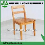 Madeira de pinho que janta a cadeira com braço (W-C-1713)