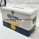 Caixa de alumínio do refrigerador da cerveja com dois punhos