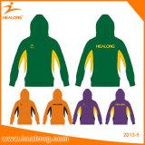 Изготовленный на заказ износ спорта сублимации куртки Hoodie