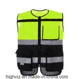 Veste de ciclagem da segurança com padrão ANSI107 (C2423)
