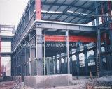 Estructura de acero taller o almacén de ingeniería Pre