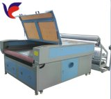 Tagliatrice del laser di CNC dell'alimentazione automatica Jd-1610 per tessuto