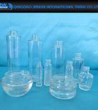 Superfeuerstein-Glas-kosmetische Flasche für Lotion und Sahne