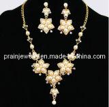 Collar de la Moda de primavera, las cadenas pendientes chapado en oro ajustable con pera estrella por parte Regalo de Cumpleaños