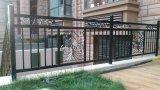 優雅な錬鉄の住宅の機密保護の手すり