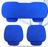 Авто деталей автомобиля из натуральной кожи синего цвета сиденья, подушка сиденья