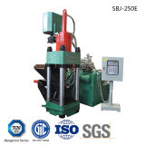 Chatarra de aluminio briqueteadoras Hierro Metal automático hidráulico de briquetas de reciclaje automático-- (SBJ-250E)