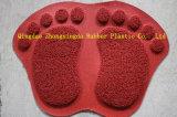 Stuoia di portello bella del PVC di disegno del piede