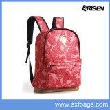 Mochila de poliéster bolsa de nylon de la escuela para estudiantes