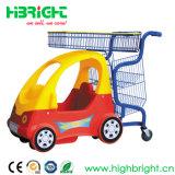 Chariot d'achats pour enfants avec voiture de jouet