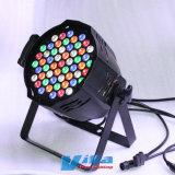 LED 55PCS*3W RGBWA étape par étape de la lumière pour afficher