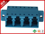 LC UPC tipo SC monomodo dúplex con brida Adaptador de plástico