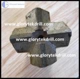 Bocados transversais para o funcionamento da perfuração de rocha