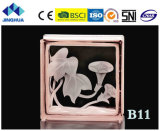 Высокое качество Jinghua художественных B-13 Окраска стекла блок/кирпича