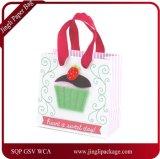 Bolsa de papel hermosa del regalo, bolsa de papel, bolsa de papel de arte, bolsa de papel de Kraft, bolsa de papel que hace compras