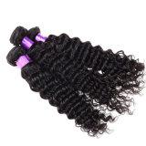 Pacotes retos do Weave não processado reto peruano do cabelo humano do Virgin do cabelo 8A do Virgin da beleza do cabelo peruano do Virgin 4