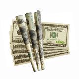 Cono impreso aduana del papel de balanceo del tabaquismo