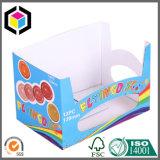Caixa de escaninho feita sob encomenda da caixa de papel do cartão da cópia de cor