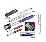 ライトが付いている多機能の金属のペン