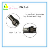Cartuccia di ceramica di vetro del vapore dell'olio Cbd/Thc/CO2 di libertà del flusso d'aria di Adjustalbe