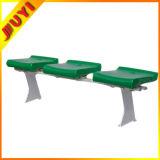 Blm-0417 China plegable no precio de fábrica para la venta con patas de metal utilizado en el exterior del asiento del estadio silla de plástico barato al por mayor