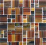 Mosaico Mosaico de cristal com a pintura (348 FH04)